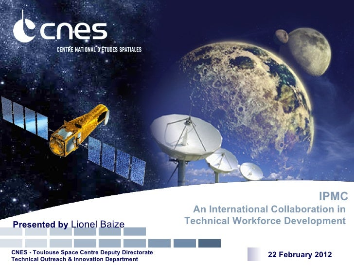 IPMC                                                    An International Collaboration inPresented by Lionel Baize        ...