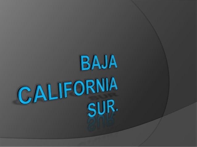  Baja california sur se ubica al noroeste del territorio, ocupando la mitad sur de la península de California. Es junto ...