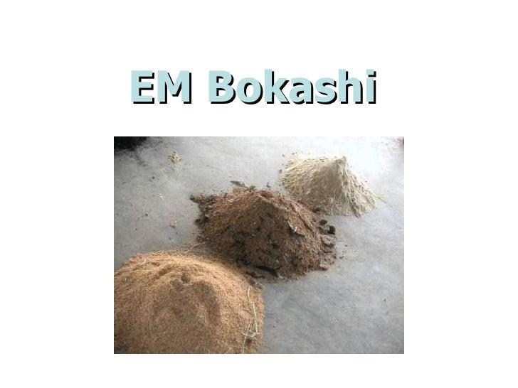EM Bokashi