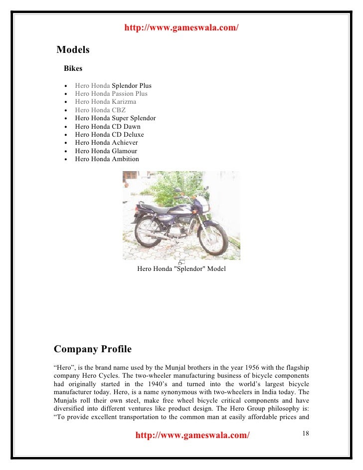 Hf Deluxe Hero Honda Spare Parts Catalogue Pdf Bike S Collection And Info