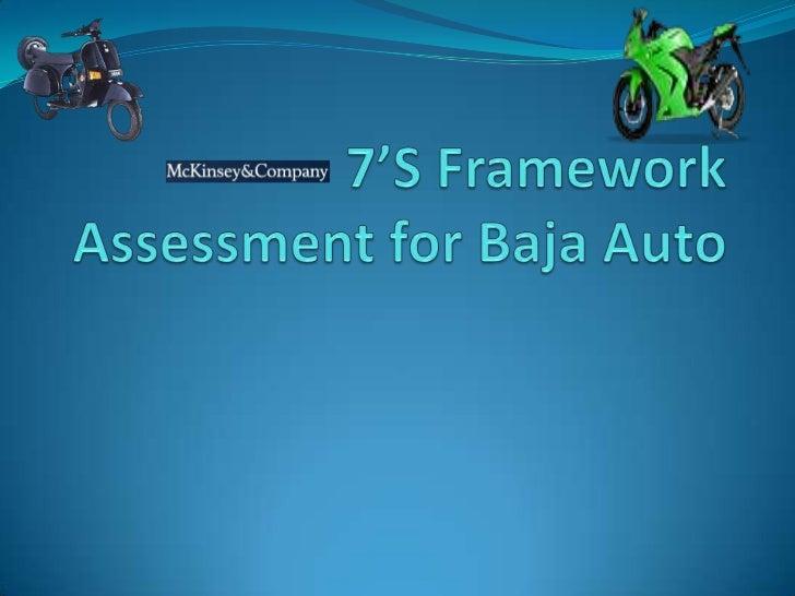 7'S Framework Assessment for Baja Auto<br />