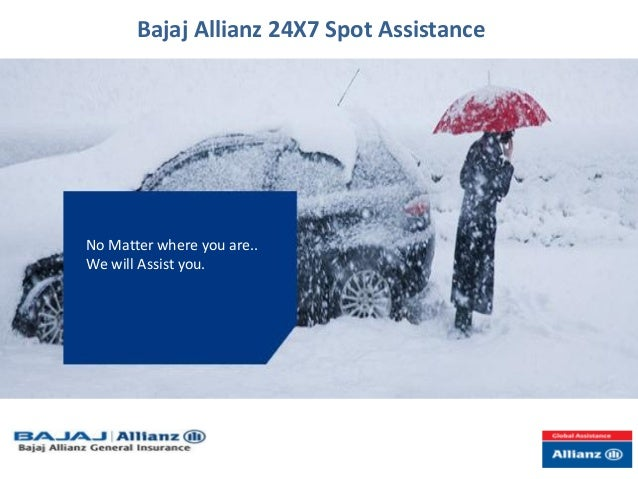 Bajaj Allianz 24 X7 Spot Assistance New