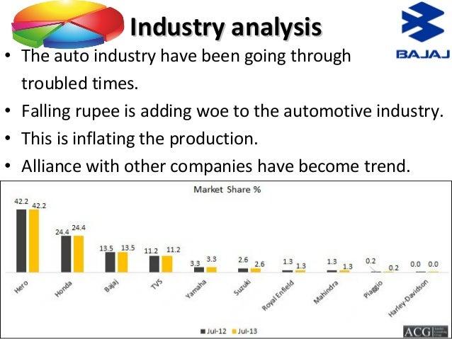 value chain analysis of bajaj auto