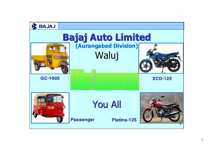 operations management at bajaj