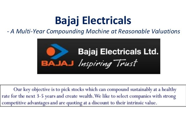 swot analysis of bajaj electricals ltd Bajaj auto ltd swot analysis profile check out wikiwealth's entire database of free swot reports or use our swot analysis generator to create your own swot template.