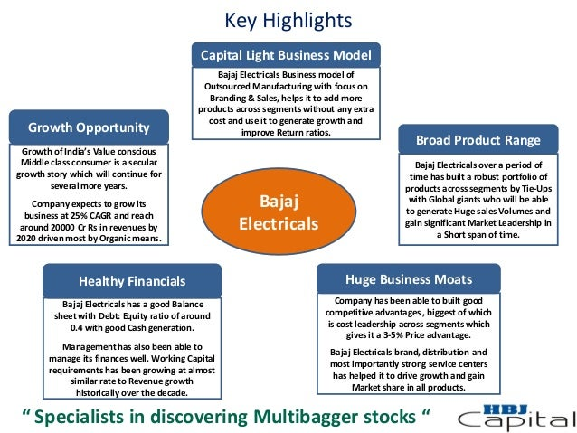 Bajaj electricals re projects to do at home.