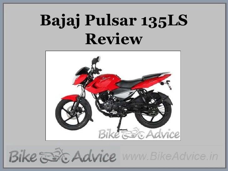 Bajaj Pulsar 135LS Review<br />