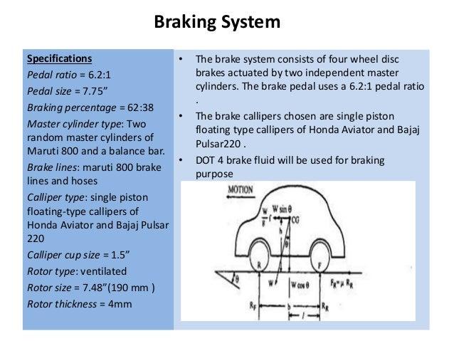 Baja Buggy Technical Details