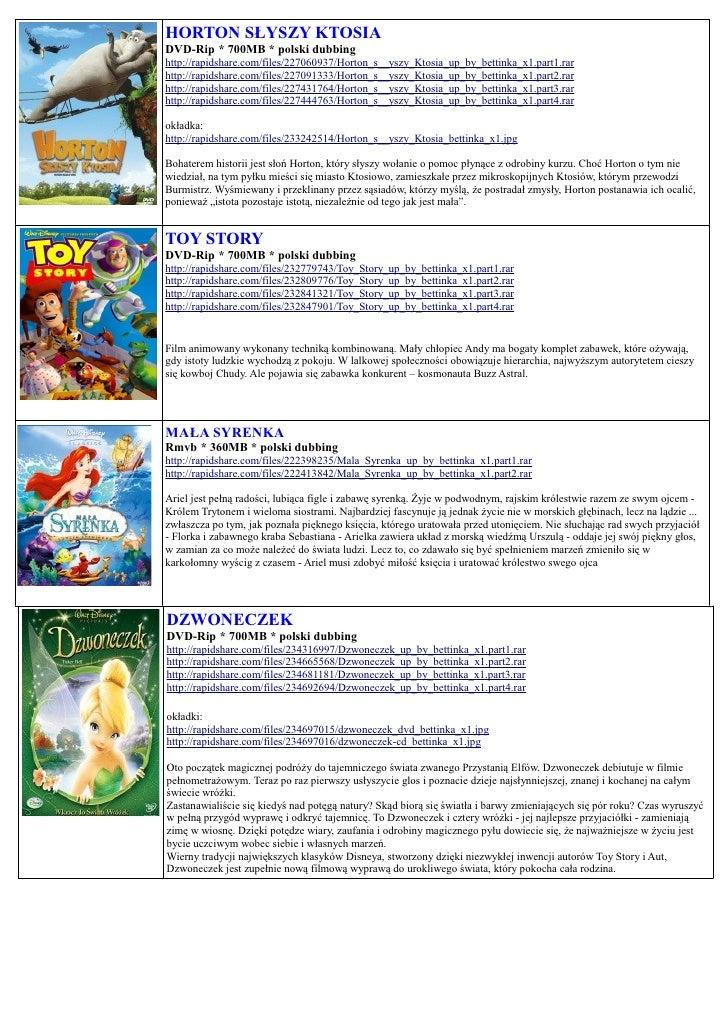 HORTON SŁYSZY KTOSIA DVD-Rip * 700MB * polski dubbing http://rapidshare.com/files/227060937/Horton_s__yszy_Ktosia_up_by_be...