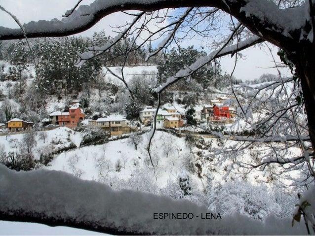 Asturias Bajo Cero Con Nieve En Powerpoint