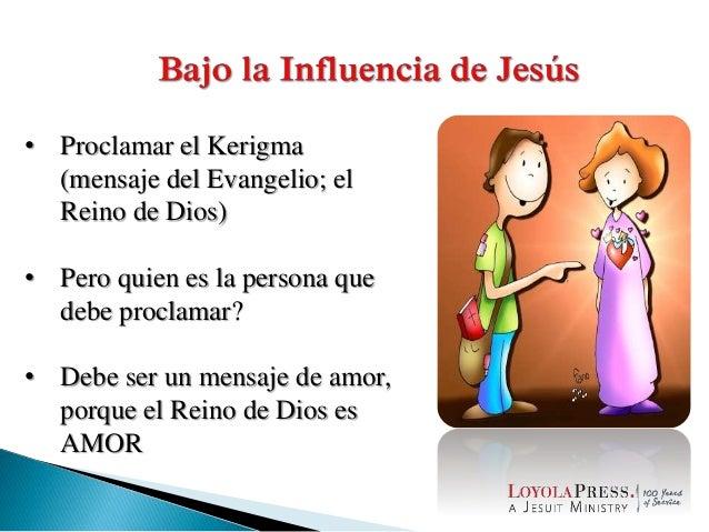 • Proclamar el Kerigma (mensaje del Evangelio; el Reino de Dios) • Pero quien es la persona que debe proclamar? • Debe ser...