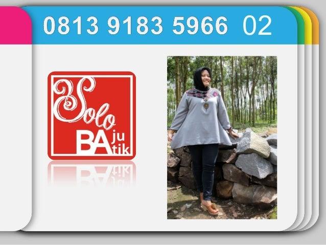 Baju Batik Gamis Baju Batik Guru Baju Batik Gaul