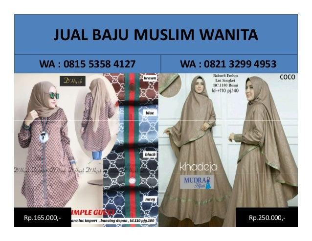 Jual Baju Hijab Modern Murah Surabaya Wa 081553584127 Jual Baju