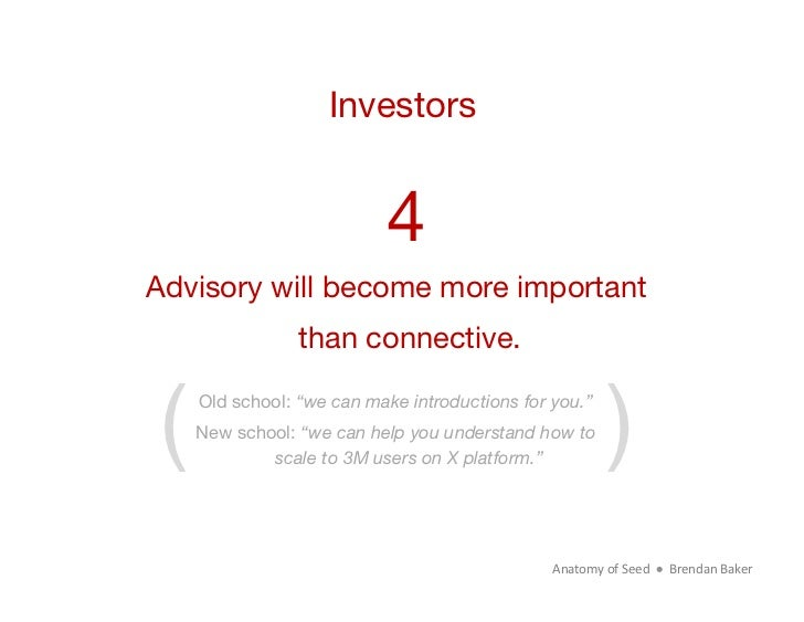 Investors 4Advisory will become more