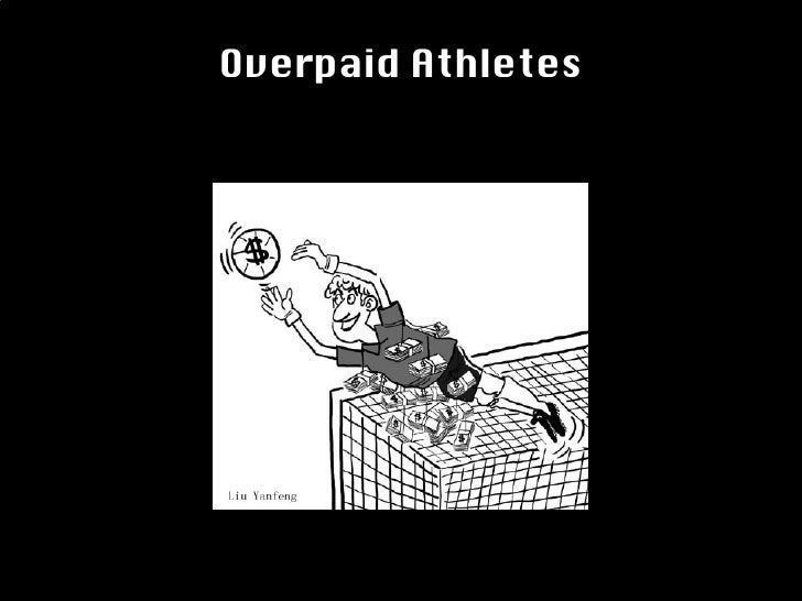 Text Overpaid Athletes