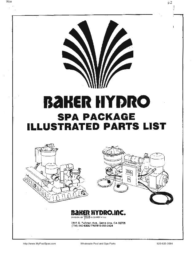 Baker hydro spa_package
