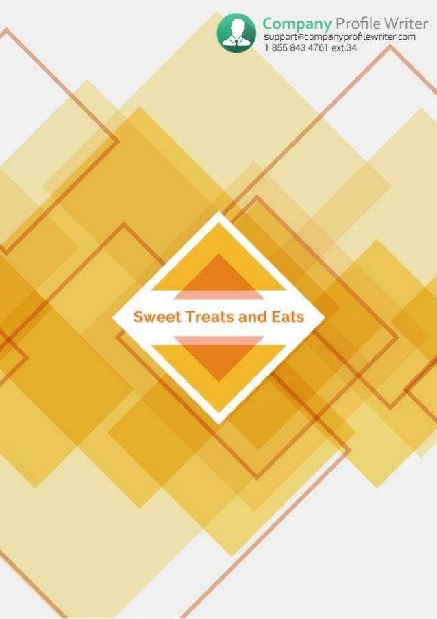 Bakery Company Profile Example