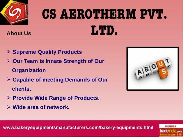 Commercial Bakery Equipment Exporter Manufacturer