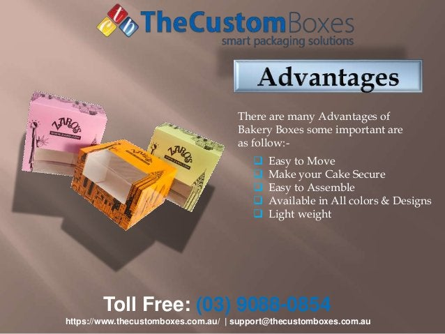 Toll Free: (03) 9088-0854 https://www.thecustomboxes.com.au/   support@thecustomboxes.com.au There are many Advantages of ...