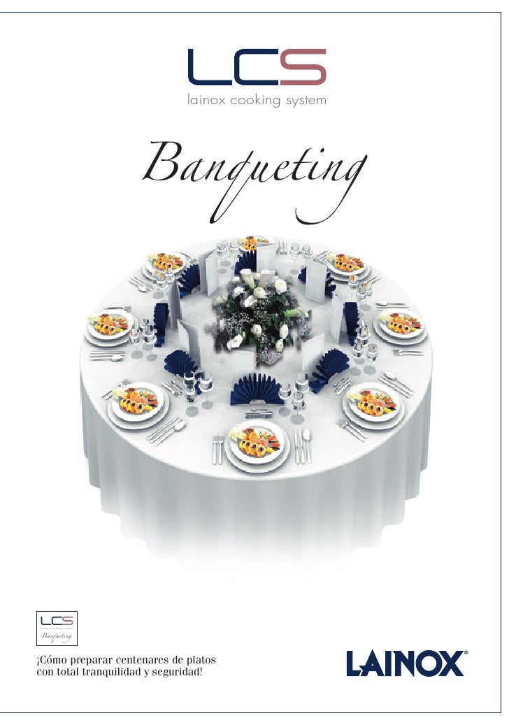 Banqueting                              lainox cooking system     Banqueting lainox cooking system     ¡Cómo preparar cent...
