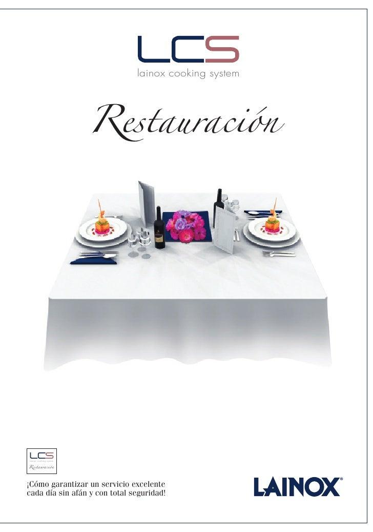 Restauración                                lainox cooking system     Restauración lainox cooking system     ¡Cómo garanti...