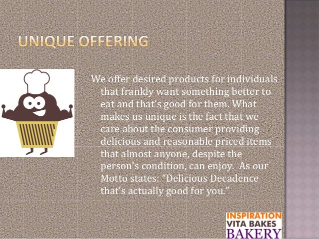 We offer desired products for individualsthat frankly want something better toeat and that's good for them. Whatmakes us u...