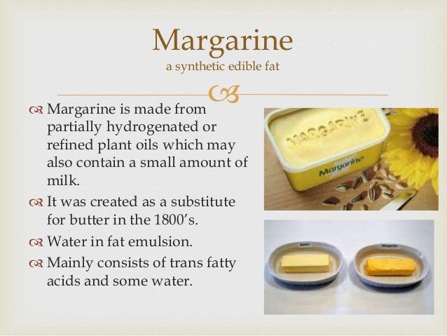 Margarine Vs Butter In Baking Cakes