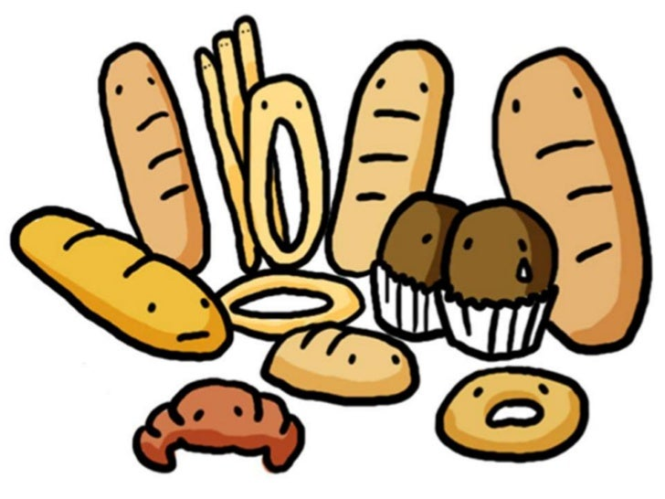 Baking Ingredients Clipart Bakery vocabulary