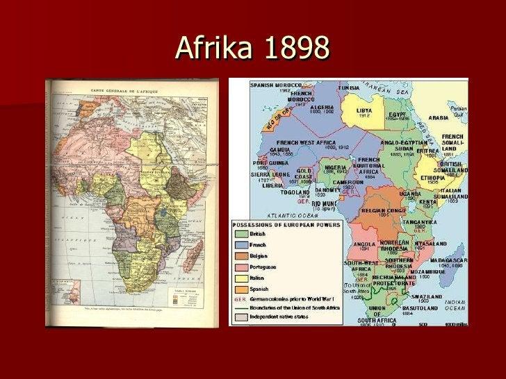 Afrika 1898