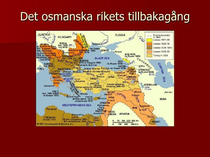 Det osmanska rikets tillbakagång