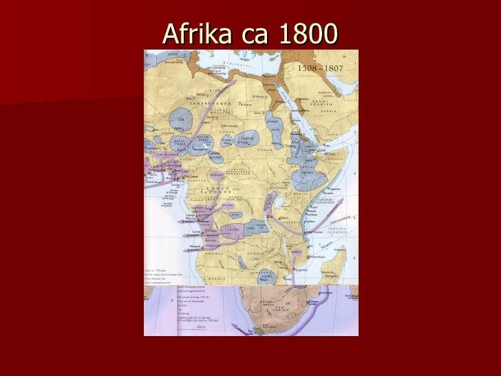 Afrika ca 1800