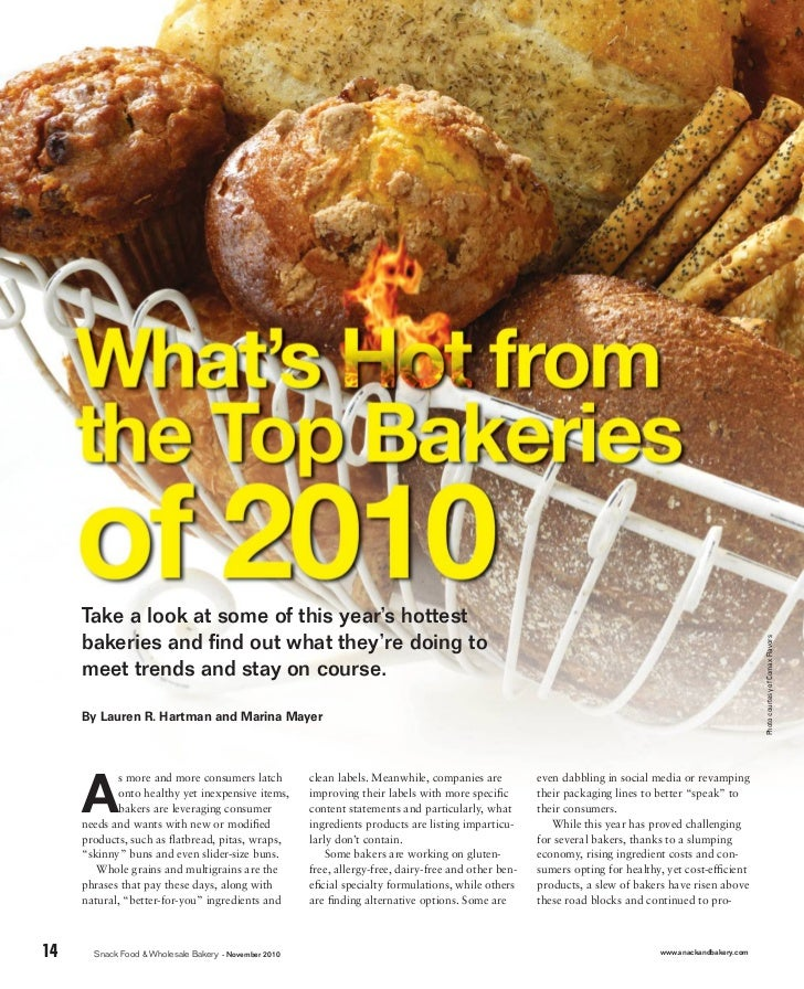 Take a look at some of this year's hottest     bakeries and find out what they're doing to                                 ...