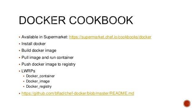 Docker Supermarket {Eddie Cheever}