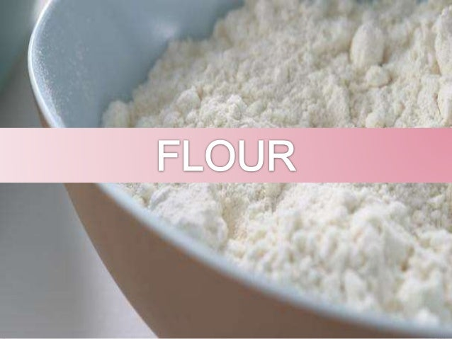 Major and minor ingredients in baking ppt