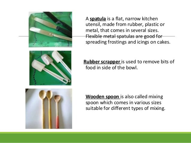 kitchen utensils and their uses with pictures ...