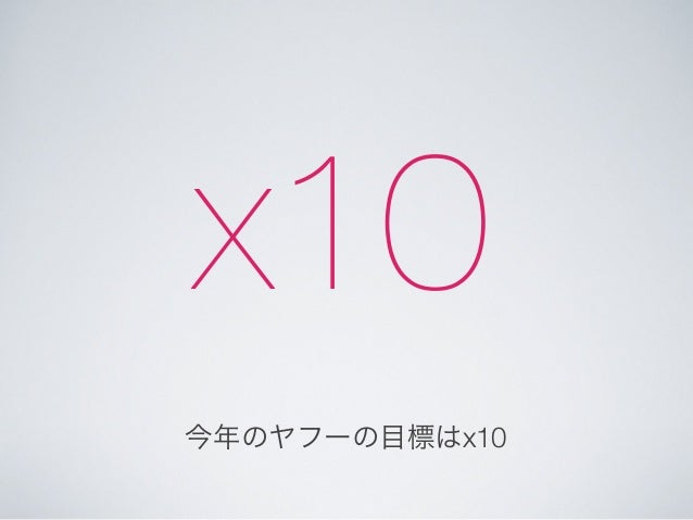 Xcodeを便利に使って爆速開発する #yxcm  Slide 3