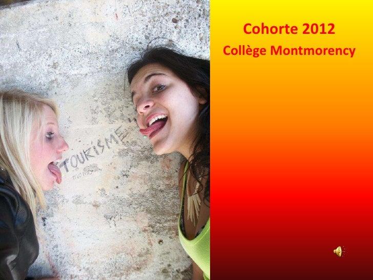 Cohorte 2012Collège Montmorency