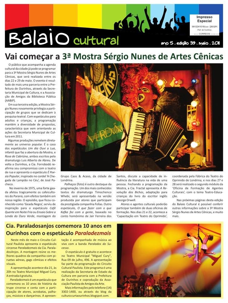 Balaio online   maio 2011