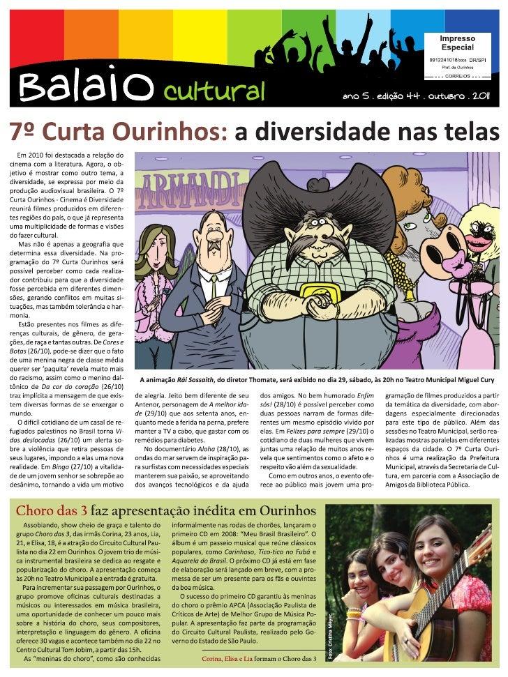 Carregando Balaio online   outubro 2011