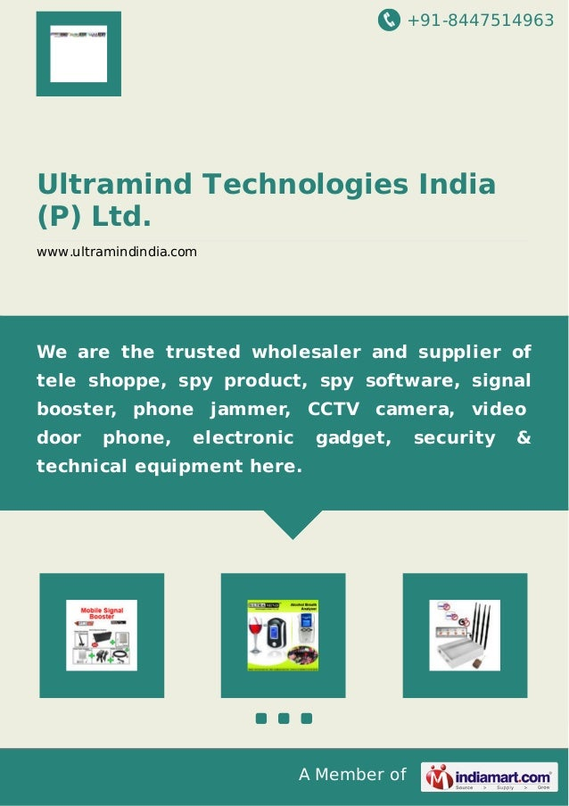 +91-8447514963 A Member of Ultramind Technologies India (P) Ltd. www.ultramindindia.com We are the trusted wholesaler and ...