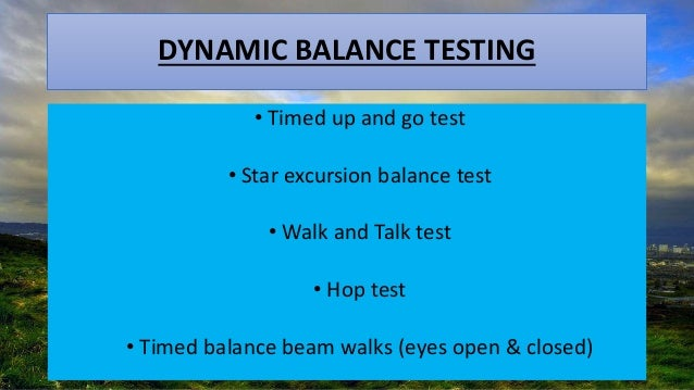 Balance Training In Athletes And Elderly Rehabilitation