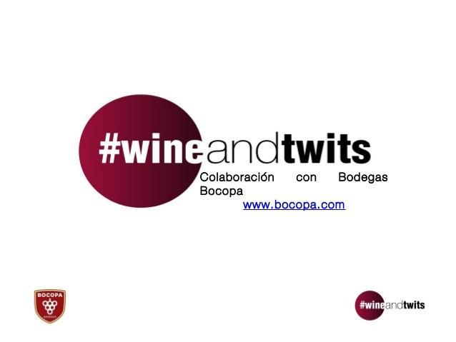 Colaboración  con   BodegasBocopa       www.bocopa.com