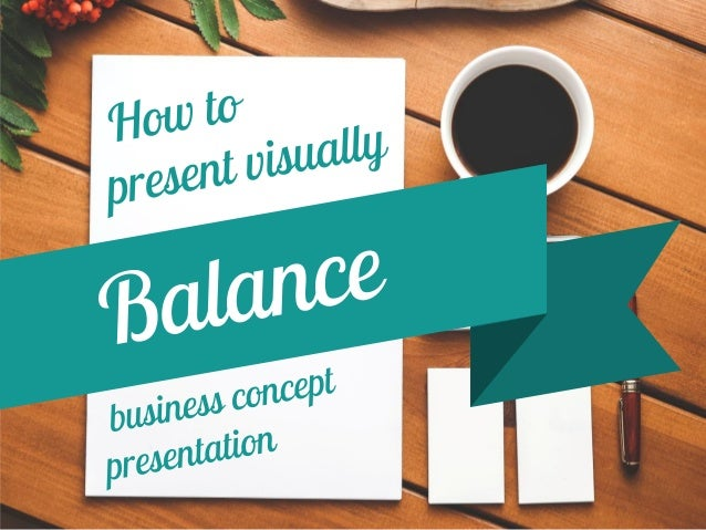 How to quickly represent a balance or comparison concept in your presentation?