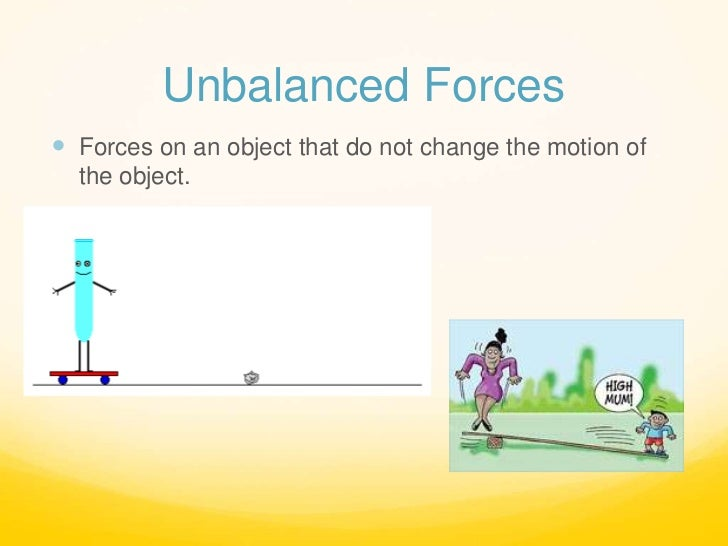 The gallery for --> Unbalanced Force Examples