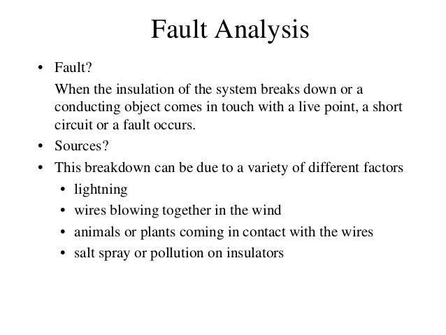 Balanced faults Slide 2