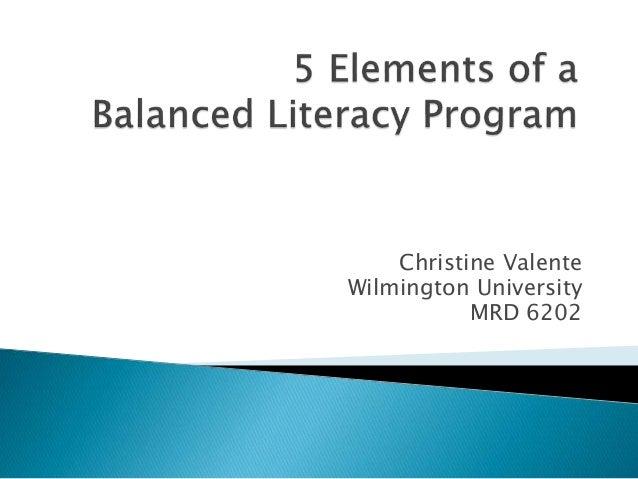 Christine Valente Wilmington University MRD 6202