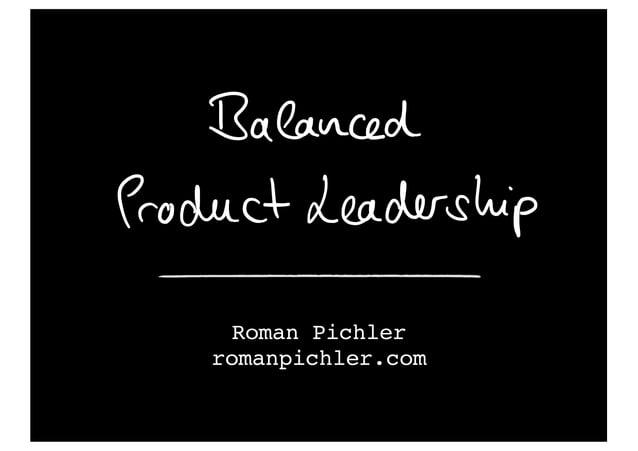 Roman Pichler romanpichler.com