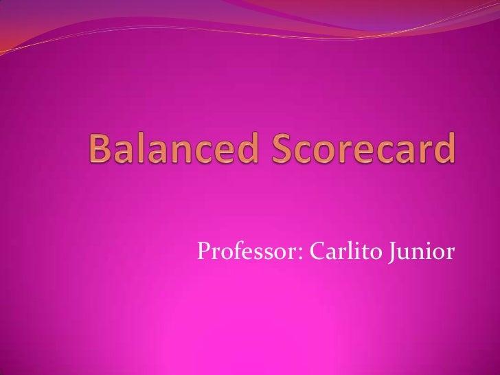 Professor: Carlito Junior