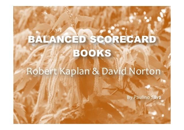 Balanced Scorecard Books