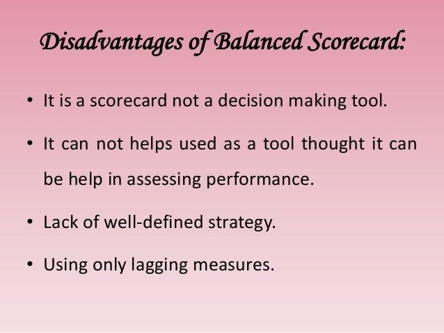 Balanced scorecard H & N